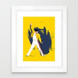 Freddie Forever Framed Art Print