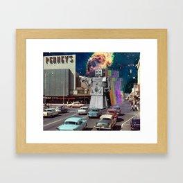 Do Androids Dream Of JC Penney's? Framed Art Print