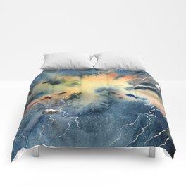 Negative Entropy Comforters