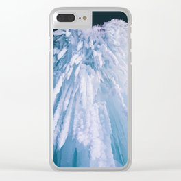 Icicle Art Clear iPhone Case