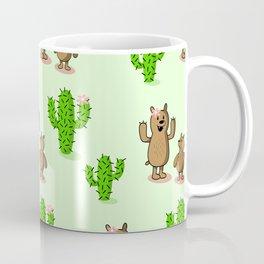 Cactus bear Coffee Mug