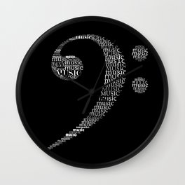 Invert Fa key Wall Clock