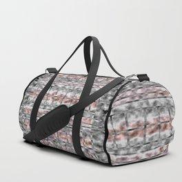 Gray and Pink Haze Duffle Bag