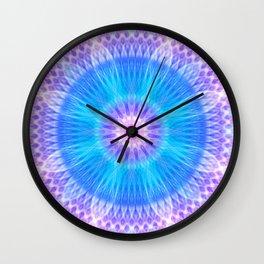 Portal of Life Mandala Wall Clock