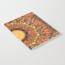 Marigold Mandala Notebook