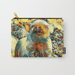 AnimalArt_Piglet_20170601_by_JAMColorsSpecial Carry-All Pouch