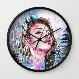 The cold breath Wall Clock