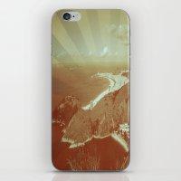 rio de janeiro iPhone & iPod Skins featuring Rio de Janeiro by amber havenside