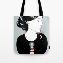 To the Lighthouse - Virginia Woolf Tote Bag