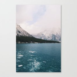 Lake Minnewanka, Banff, Alberta, Canada Canvas Print