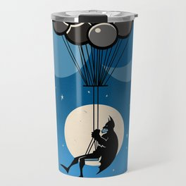 Balloon Bat Travel Mug