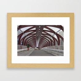 Peace Bridge Framed Art Print