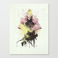 2ne1 Canvas Prints featuring 2NE1 - CL by Margot Park