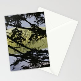 LAST SUN ALONG THE LAKESHORE Stationery Cards