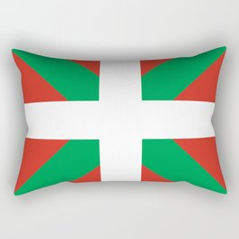 Basque Country: Euskaldun Flag Rectangular Pillow