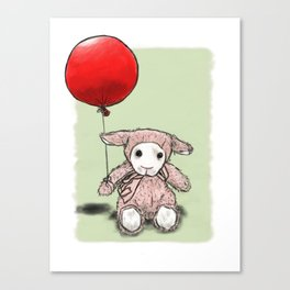 My first balloon Canvas Print