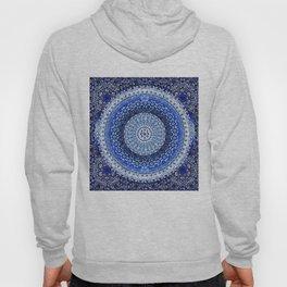 Cobalt Tapestry Mandala Hoody