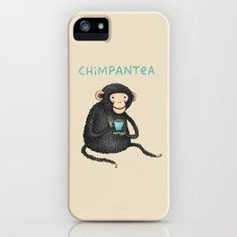 Chimpantea iPhone Case
