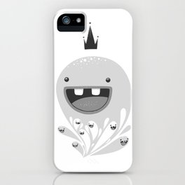 King Lip of the Squiggles iPhone Case