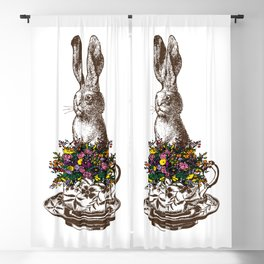 Rabbit in a Teacup Blackout Curtain