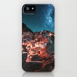 manarola by night iPhone Case