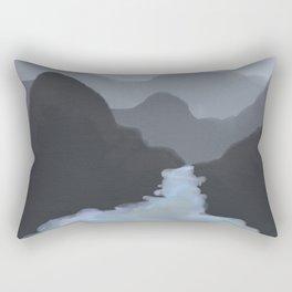 the center will not hold Rectangular Pillow
