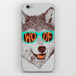 Woof iPhone Skin