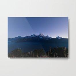 Dawn on Annapurna Metal Print