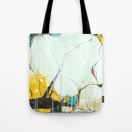 October - Square Abstarct Expressionism Tote Bag