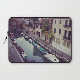 Morning Canal in Venice Laptop Sleeve