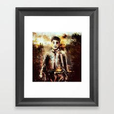 Beautiful place on earth Framed Art Print