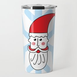 Christmas coming soon. Believe in Santa Clause. Believe #society6 #decor #buyart #artprint Travel Mug
