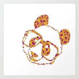 jelly bear Art Print