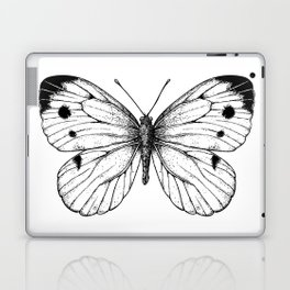 Cabbage butterfly Laptop & iPad Skin