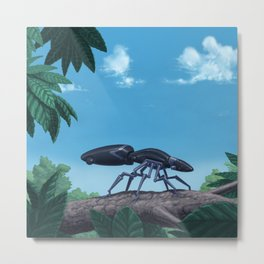 Passive Insectron Metal Print
