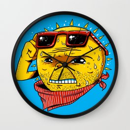 Damn, It's Hot Wall Clock