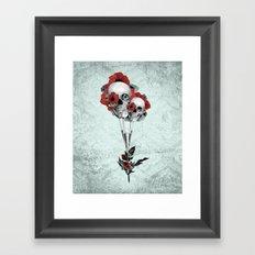 Evolution of poppies.  Framed Art Print