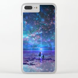 Ocean, Stars, Sky, and You Clear iPhone Case