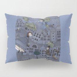 Monsieur Millet's Umbrellas Pillow Sham