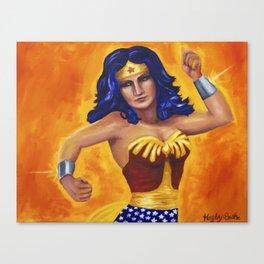 Princess Diana of Themyscira Canvas Print