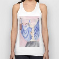 nike Tank Tops featuring Nike by Katerina Skassi
