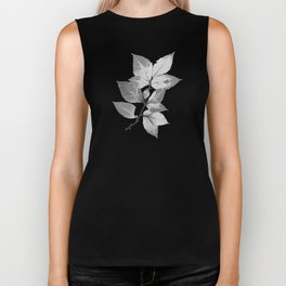 Elegant Leaves Biker Tank