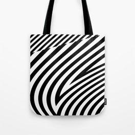 stripes wave. wow Tote Bag