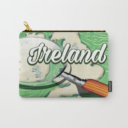 Ireland vintage Style travel poster Carry-All Pouch