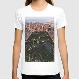 Central Park, New York - Twilight T-shirt