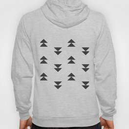 Mudcloth double triangles Hoody