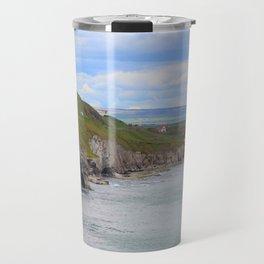 Arch from Dunluce Castle Travel Mug