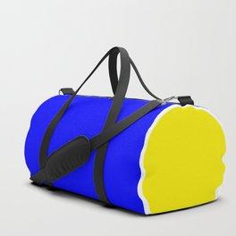 TEAM COLORS 10...BLUE,YELLOW Duffle Bag
