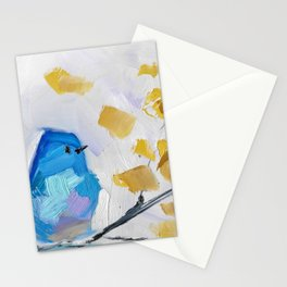 Mountain Bluebird No. 2 Stationery Cards