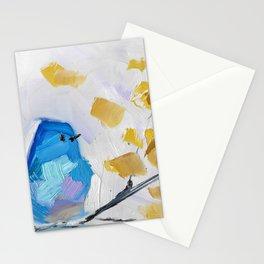 Mountain Bluebird No. 2 Stationery Cards